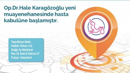 Op.Dr.Hale Karagözoğlu Yeni Muayenehanesi Açıldı